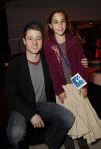 Benjamin McKenzie and Rachel Marcus at the Young Storyteller Foundation's