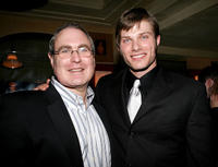 Roundabout theater artistic director Todd Haimes and Chris Carmack at the opening night of