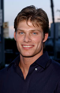 Chris Carmack at the kickoff party of
