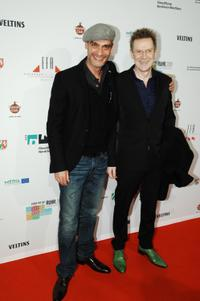 Anatole Taubman and Guest at the Lifetime Achievement Awards.