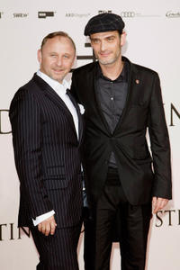 Alexander Helt and Anatole Taubman at the World premiere of