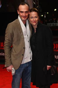 Anatole Taubman and Claudia Melsen at the European premiere of
