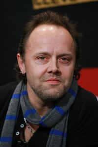 Lars Ulrich at the Rock & Roll Hall of Fame 2009 Inductee Announcement.