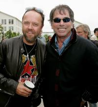 Lars Ulrich and Mickey Hart at the filmmaker George Lucas's open house for his new Letterman Digital Arts Center.