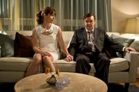 Jennifer Garner as Anna McDoogles and Ricky Gervais as Mark Bellison in
