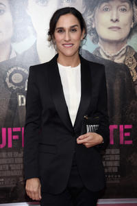 Director Sarah Gavron at the New York premiere of