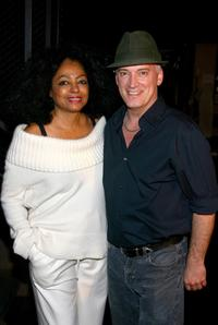 Diana Ross and Donnie Kehr at the Jersey Boys in New York.
