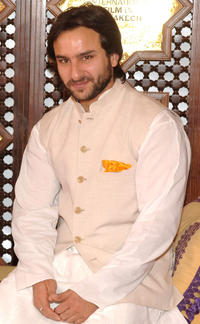 Saif Ali Khan at the Marrakesh International Film Festival.