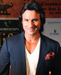 Saif Ali Khan at the International Indian Film Academy (IIFA) awards in Colombo.