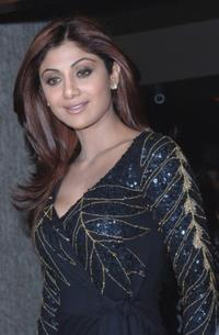 Shilpa Shetty at the L'Officiel India launch party.