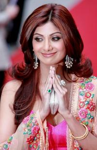 Shilpa Shetty at the world premiere of