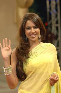 Sameera Reddy at the premiere of