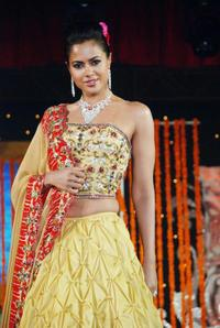 Sameera Reddy at the fifteenth Anniversary of Gitanjali Jewellery.