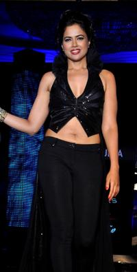 Sameera Reddy at the Fashion show in Mumbai.