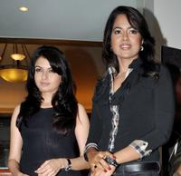 Bhagyashree Patwardhan and Sameera Reddy at the promotional event for