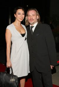 Ursula Strauss and Johannes Krisch at the 81st Academy Awards Foreign Language Film Award reception.