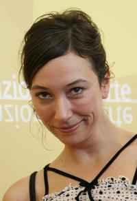 Ursula Strauss at the photocall of