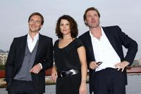 Stephen Campbell Moore, Neve Campell and Sebastien Koch at the photocall of