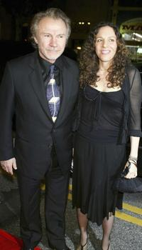 Harvey Keitel and wife Daphna Kastner at the California premier of