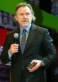Harvey Keitel at the 24th Istanbul International Film Festival.