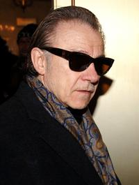 Harvey Keitel at the Robert Altman Memorial at the Majestic Theater.