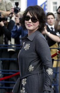Isabelle Adjani at the 26th Moscow International Film Festival.