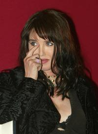 Isabelle Adjani at 56th International Cannes Film Festival.