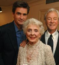 Peter Keleghan, Gordon Pinsent and Charmion King at the Toronto International Film Festival Cocktail party of