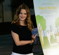 Drew Barrymore at the premiere of the
