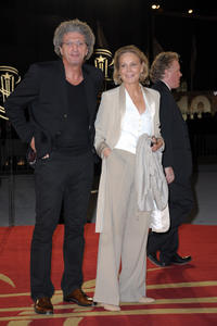 Director Elie Chouraqui and Marthe Keller at the photocall of