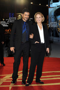 Pascal Elbe and Marthe Keller at the photocall of