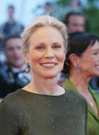 Marthe Keller at the 55th International Film Festival for the screening of