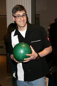 Mo Rocca at the 20th Anniversary of Second Stage Theatre's All Star Bowling Classic.