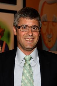 Mo Rocca at the Mercedes-Benz Fashion Week.