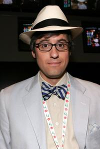 Mo Rocca at the 132nd Kentucky Derby.