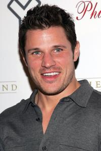 Nick Lachey at the launch of Yfly.com