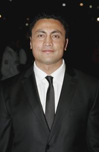 Rene Naufahu at the Air New Zealand Gala Screening of