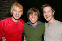 Ryan Hansen, Chris Lowell and Jason Dohring at the Church of Scientology's Christmas Stories XIV.
