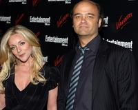 Jane Krakowski and Scott Adsit at the Entertainment Weekly and Vavoom annual upfront party.