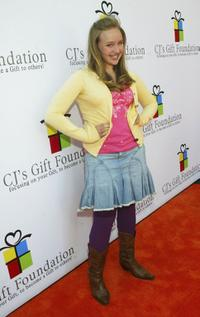 Amy Bruckner at the CJ's Gift Foundation Launch.