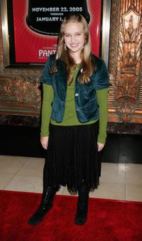 Amy Bruckner at the opening night performance of