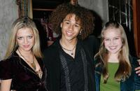 Lauren Storm, Corbin Bleu and Amy Bruckner at the opening night performance of