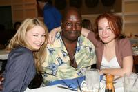Elisabeth Harnois, Greg Hollimon and Maria Thayer at the Filmmakers Luncheon during the CineVegas Film Festival.