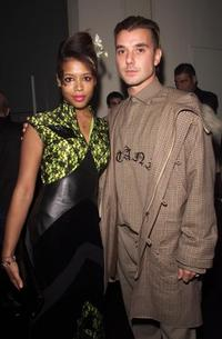 Kelis backstage and Gavin Rossdale at the MTV European Music Awards.