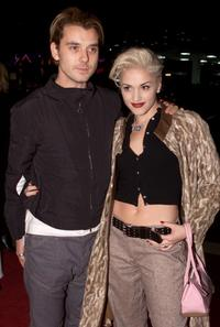 Gavin Rossdale and Gwen Stefani at the premiere of
