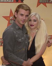 Gavin Rossdale and Gwen Stefani at the 2001 MTV Movie Awards.