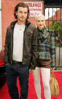 Gavin Rossdale and his wife Gwen Stefani at the 7th Annual Young Hollywood Awards.