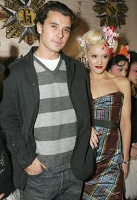 Gavin Rossdale and Gwen Stefani at the Gwen Stefanis Solo Album Release Party.