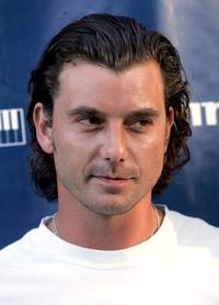Gavin Rossdale at the Gibson / Baldwin Night At The Net Charity Event.