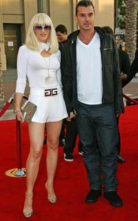 Gwen Stefani and her husband Gavin Rossdale at the American Music Awards.